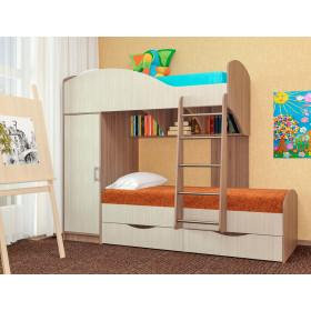 Кровать двухъярусная Жемчужина