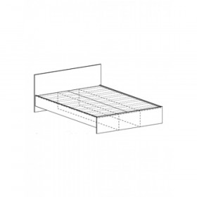 Кровать КР 554 Рикко односпальная