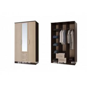 Шкаф 3-х дверный Фиеста (Рикко)
