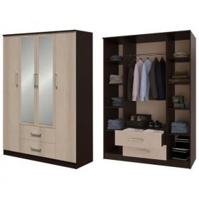 Шкаф 4-х дверный Фиеста (Рикко)