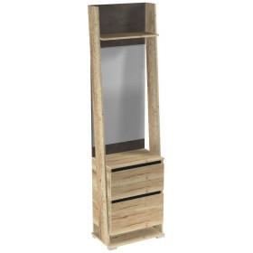 Шкаф с зеркалом ПС-3 Стреза