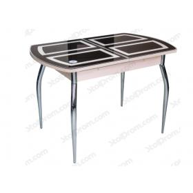 Стол обеденный Asti 01 (гнутые ноги хром)