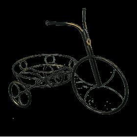 Подставка для цветов Велосипед